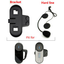 Hard Line Headset Earphone+Clip Mount For TCOM-VB/02/SC Bluetooth Intercom Radio