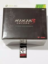 Ninja Gaiden 3 Collector's Edition (Xbox 360, 2012) New Sealed