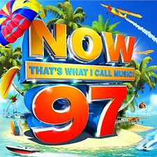 NOW THAT'S WHAT I CALL MUSIC 97 (NOW 97) 2 CD (NEW RELEASE 21/7/2017)