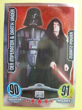 Force Attax Star Wars 1 (2012, blau), Imperator & Darth Vader (224) Zusatz-Power