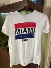 New Look T Shirt Miami 1985  Size 10
