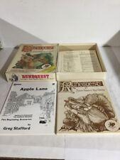 Runequest Second Edition Box Set Game Manual Apple Lane Scenario Book RPG