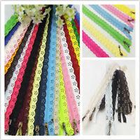 10x nylon chiuso chiusura lampo cerniere per borse borsa multicolore per cucire