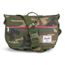 Herschel Supply Pop Quiz Messenger Woodland Camo Lap Top Bag New With Tags