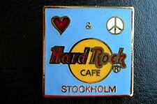 HRC hard rock cafe stockholm love and peace Logo le1000