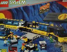 Lego Eisenbahn 9V 4559 Komplett Set mit Bauanleitung mit Motor und Travo