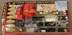 "Life Like Trains Super Power Charger Giant 89""x38"" Santa Fe Train"