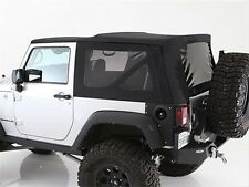 2010-2017 Jeep Wrangler 2 Door Replacement Soft Top with Tinted Rear Windows