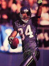 TJ Houshmanzadeh Signed 8x10 Color Photo Seattle Seahawks