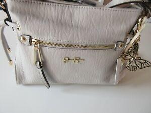 Jessica Simpson Medium Crossbody Arden Bag Quartz (Lt Gray) New With Tag