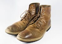 MEN'S TIMBERLAND WEST HAVEN CITY 2.0 SIDE-ZIP BROWN BOOTS Size 10 (A12U8)