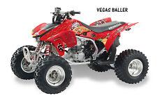 ATV Graphics Kit Quad Decal Sticker Wrap For Honda TRX450R TRX450ER VEGAS RED