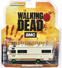 GREENLIGHT 33070 A THE WALKING DEAD 1973 WINNEBAGO CHIEFTAIN 1/64 GREEN MACHINE