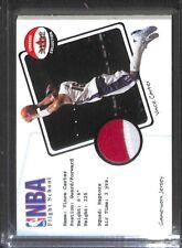 2001-02 Fleer Shoebox Collection NBA Flight School Patch Card Vince Carter