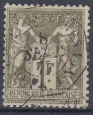 FRANCE : TYPE SAGE N° 72 RARE CACHET OCTOGONAL D'ESCALE BUENOS AYRES