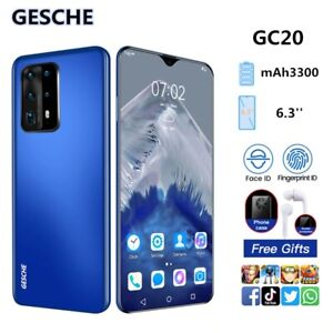 """Smartphone 6.3"""" Full HD+Water Drop Screen Android 10 Face ID 2GB+16GB AI Mode Tr"""