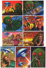 2016 Cult Stuff The Illustrated War of the Worlds 9 Card David Day Art Base Set