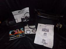 Vtg OLYMPUS OM-2 35mm Single Lens Reflex SLR Film Camera Zuiko 50mm Case Papers