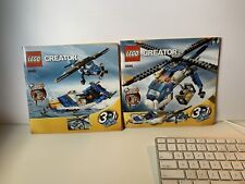 Lego Cargo Copter 4995 Instruction Books Only Great condition! 2 books included.