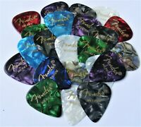 Fender 351 Premium Celluloid Guitar Picks 36 Variety Pack (Thin, Med and Heavy)