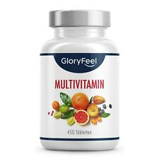 Multivitamin 450 Tabletten hochdosiert - Alle A-Z Vitamine für Dein Immunsystem