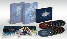 Twilight Complete Saga Series DVD Movie Box Set New Moon Eclipse Breaking Dawn