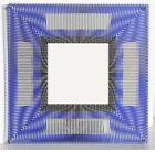 Jesus Rafael Soto, Miroir d'Artistes, Screenprint on Plexiglas & Mirror,