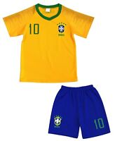 Kit Short + Maillot de Football Enfant BRESIL - 2019 -