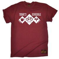 Cycling Tee Todays Shedule Bike funny Birthdaytee tshirt T SHIRT T-SHIRT