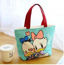 Diney Donald Duck daisy lunch bag storage handbag tote bags shopper bag