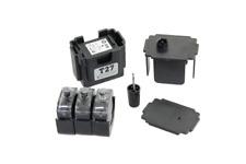 Befülladapter + 3 Füllungen für HP 302 black, 302 black XL - HP F6U68AK, F6U66AE