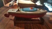 Sutcliffe , Grande-Bretagne canot de vitesse bateau mécanique L. 24 cm