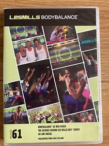 Les Mills Body Balance/Body Flow 61 Complete Instructor Pack DVD CD & Notes