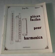 Pièces faciles pour HARMONICA - Méthode Georges VILIO 1981 Volume 1