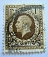 Angleterre-GB Stamp n°185 One Shilling King Georges V 1934 UK Timbre