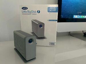 LaCie Little Big Disk 2TB - Dual Thunderbolt - Dual Hard Disk Drives