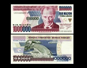 TURKEY 1000000 LIRA 2005 P 209 UNC