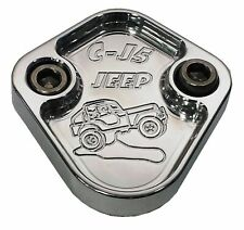 Fuel Pump Block Off Plate Fits Jeep CJ5 CJ7 Engines F111