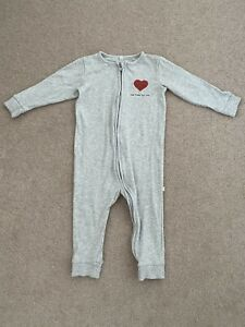 WORN ONCE Baby Mori Sleepsuit Size 18-24 Months