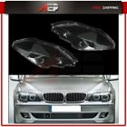 For 2005-2008 Bmw 7 Series E66 Front Leftright Headlight Cover Lens Pair Us