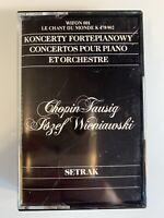 Chopin Wieniawski Concertos Setrak (Cassette)