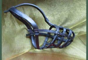 Poodle Leather Muzzle