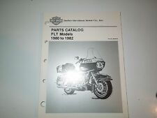 Harley  FLT Models Parts Catalog 1980 - 1982