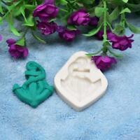 3D Ancre Silicone Moule à Gateaux Fondant Pâtisserie Chocolats Moule