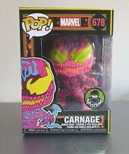 Funko Marvel Carnage Black Light Popcultcha Exclusive Pop Vinyl *IN HAND*