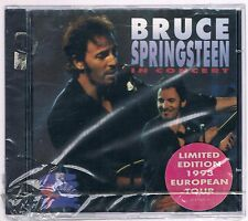 BRUCE SPRINGSTEEN IN CONCERT MTV UNPLUGGED  LIMITED EDITION CD SIGILLATO!!!