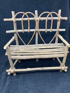 Folk Art Dolls Chair