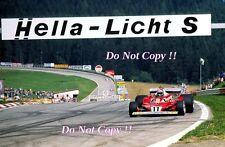 Niki Lauda Ferrari 312 T2 austríaco Grand Prix 1977 fotografía