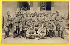 cpa Carte Photo Larcher à JUSSEY (Hte Saône) MILITAIRES SOLDATS du 15e Régiment
