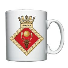 HMS Raleigh  -  Royal Navy - Personalised Mug